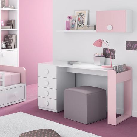 Escritorio para una habitaci n infantil y juvenil blog - Mesas escritorio para ninos ...